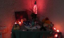 Vánoční posezení přátel pyramidy